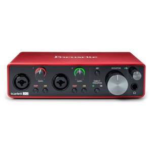FOCUSRITE SCARLETT 2I2 THIRD GENERATION