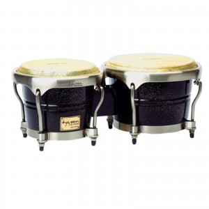 "TYCOON MASTER SET BONGOS 7""+8 1/2"" - HW BRUSHED CHROME - DIAMOND MTBD-BC"
