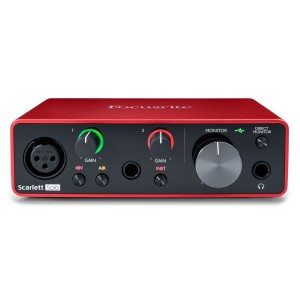FOCUSRITE SCARLETT SOLO THIRD GENERATION