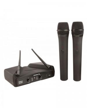 PROEL WM202DM RADIOMICROFONO UHF GELATO DOPPIO