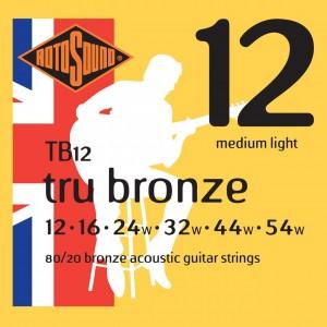 ROTOSOUND TRU BRONZE TB12 12-54