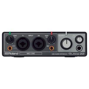 ROLAND RUBIX22INTERFACCIA AUDIO USB 2-IN/2-OUT PER PC, MAC E iPAD
