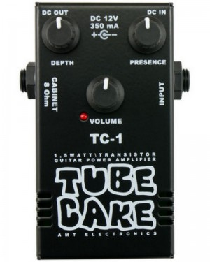 AMT TC-1 TUBE CAKE-1 1,5 W TRANSISTOR GUITAR AMPLIFIER