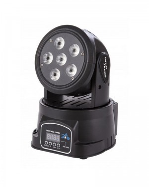 SAGITTER MOVING HEAD SMART DL WASH LED 6 RGBWAU