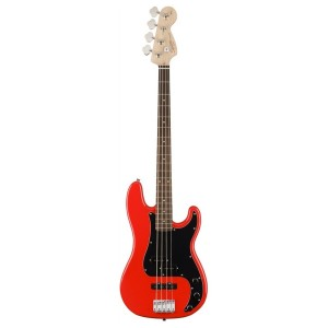FENDER SQUIER AFFINITY PJ BASS LRL RCR RACE RED
