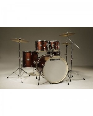 LUDWIG ELEMENT POP LCF50P-25 ROSSA