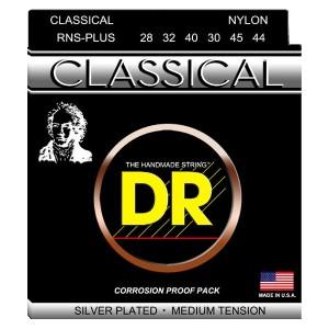 DR RNS-PLUS MUTA PER CHITARRA CLASSICA 28-44 SILVER PLATED MEDIUM TENSION