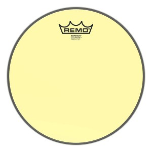 "REMO BE-0312-CT-YE PELLE BATTENTE/RISONANTE EMPEROR COLORTONE TRASPARENTE TOM 12"" YELLOW"