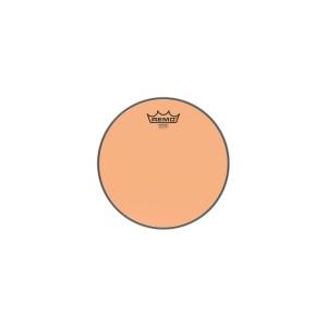 "REMO BE-0313-CT-OG PELLE BATTENTE/RISONANTE EMPEROR COLORTONE TRASPARENTE TOM 13"" ORANGE"