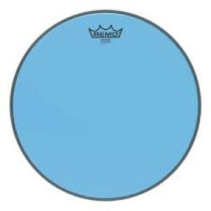 """REMO BE-0313-CT-BU PELLE BATTENTE/RISONANTE EMPEROR COLORTONE TRASPARENTE TOM 13"""" BLUE"""