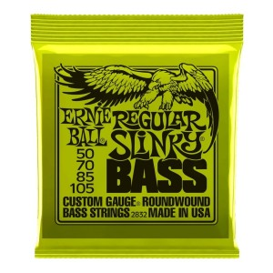 ERNIE BALL 2832 SLINKY BASS NICKEL WOUND - HYBRID