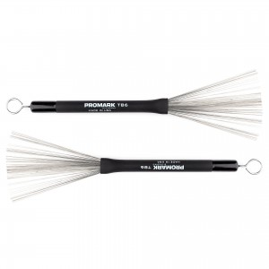 PRO MARK TB6 HEAVY BRUSH SPAZZOLE IN METALLO - TEL WIRE BRUSH