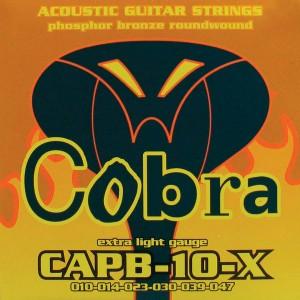 COBRA CAPB-10-X MUTA DI CORDE PER CHITARRA ACUSTICA 10-47