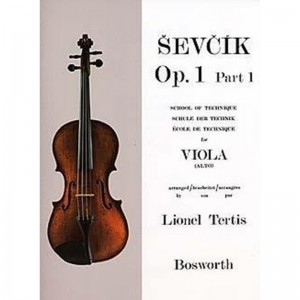 SEVCIK VIOLA STUDIES: SCHOOL OF TECHNIQUE PART 1 - OTAKAR SEVCIK