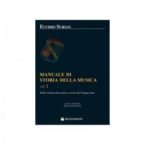 ELVIDIO SURIAN MANUALE DI STORIA DELLA MUSICA VOL.1