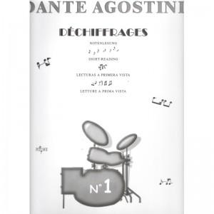 DÉCHIFFRAGE, VOLUME 1 - DANTE AGOSTINI - LETTURA A PRIMA VISTA