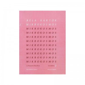 BELA BARTOK - MIKROKOSMOS VOL. 2 - PIANOFORTE