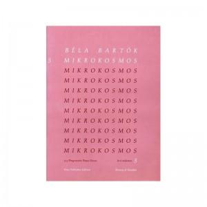 BELA BARTOK - MIKROKOSMOS VOL. 3 - PIANOFORTE