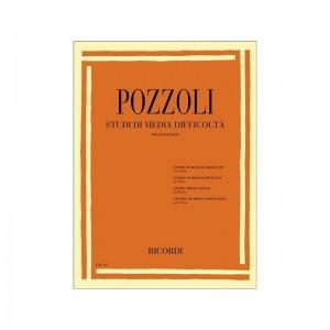 ETTORE POZZOLI - STUDI DI MEDIA DIFFICOLTA' - PIANOFORTE