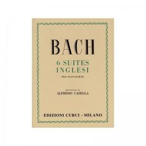 BACH 6 SUITES INGLESI PER PIANOFORTI