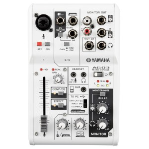 YAMAHA AG03 MIXER DIGITALE E INTERFACCIA USB