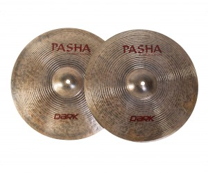 "PASHA DARK BREEZE HI-HAT 15"" DBZ-H15"