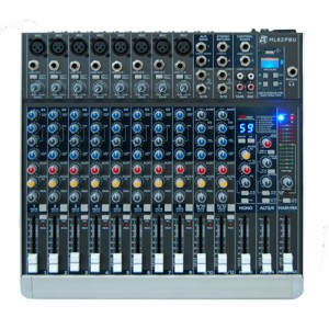 AUDIO TOOLS ML82FBU MIXER PROFESSIONALE 12 CANALI USB/BLUETOOTH
