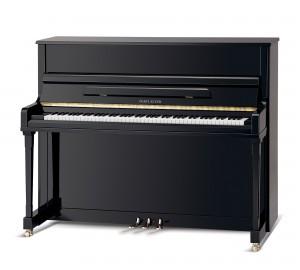 PEARL RIVER UP121S PIANOFORTE ACUSTICO EBONY
