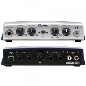 LEXICON ALPHA DESKTOP RECORDING STUDIO