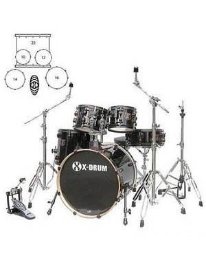 X-DRUM QUICKSTART XDQS-ROCK