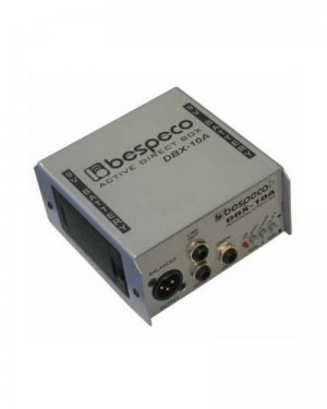 BESPECO DBX10A DIRECT BOX ATTIVA 1 CANALE SWITCH.020DB