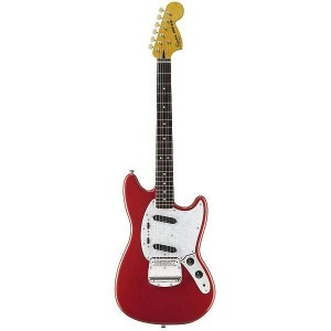 FENDER SQUIER VINTAGE MODIFIED MUSTANG ROSEWOOD FINGERBOARD RED