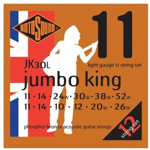 ROTOSOUND JK30L JUMBO K. 11-5212 CORDE