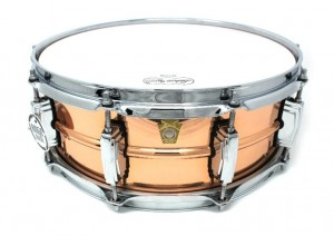 "LUDWIG LC660 5X14"" PHONIC COPPER SMOOTH FINISH BLOCCHETTI IMPERIAL"