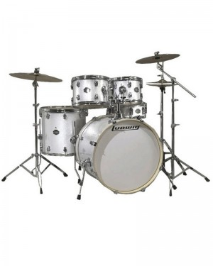 LUDWIG  ELEMENT DRIVE WHITE SPARKLE