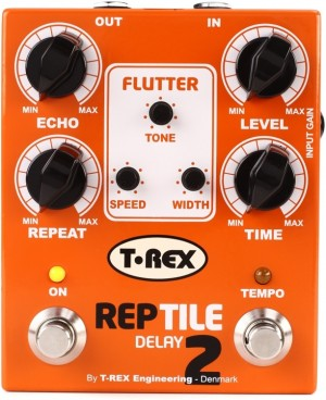 T-REX REPTILE II ANALOG TAPE ECHO SIMULATOR