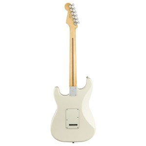 FENDER STRATOCASTER PLAYER POLAR WHITE MAPLE FINGERBOARD