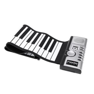 ROLLER SOFT KEYBOARD PIANO ROLL UP PIANO ROLLER RP49 MIDI 49 TASTI