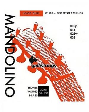 GALLI CORDE PER MANDOLINO NICKEL WOUND 010-032 MOD G1420