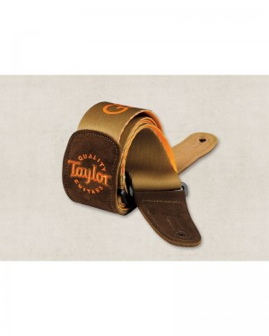 TAYLOR GS MINI GUITAR STRAP BROWN 66500