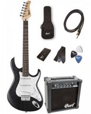 CORT CGP-100 GUITAR PACK OPB KIT COMPLETO