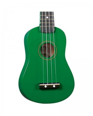 "ME ALL SOUND UKULELE SOPRANO 21"" UK-01 VERDE GREEN"