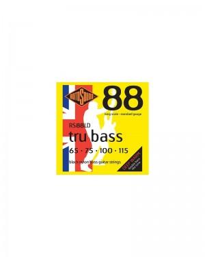 ROTOSOUND TRU BASS 88 RS88LD MUTA BLACK NYLON FLATW. 65-115 FLAT