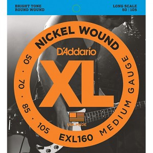 DADDARIO EXL160 MEDIUM GAUGE 50-105