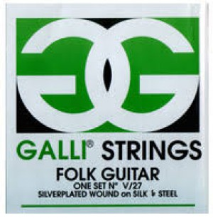 GALLI FOLK GUITAR STRINGS V27