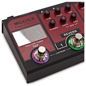 MOOER RED TRUCK MULTIEFFECTS PROCESSOR