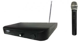 AUDIO DESIGN PA MV 151 MICROFONO WIRELESS IN METALLO FREQUENZA FISSA IN VHF