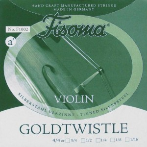 """FISOMA F-1001 CORDA SINGOLA """"A"""" PER VIOLINO 4/4 GOLDTWISTLE"""