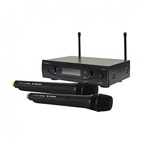 PROEL WM101DM RADIOMICROFONO DOPPIO UHF 863-865 MHz ISM BAND WIRELESS MICROPHONE SYSTEM
