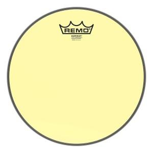 """REMO BE-0310-CT-YE PELLE BATTENTE/RISONANTE EMPEROR COLORTONE TRASPARENTE TOM 10"""" YELLOW"""